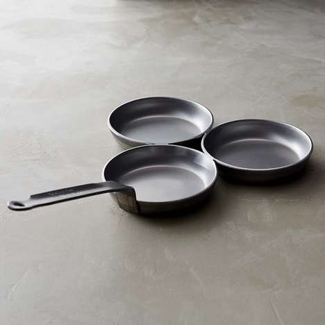 Food-Separating Frying Pans
