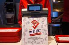 Educational Fast Food Promotions - This Chain Offers Free WiFi to Students Who Can Pass an Exam
