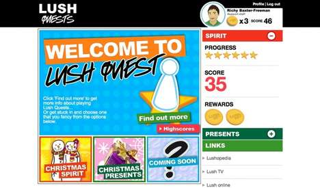 Gamified Training Programs - 'Lush Quest' is an Interactive Story-Based Onboarding Training Program