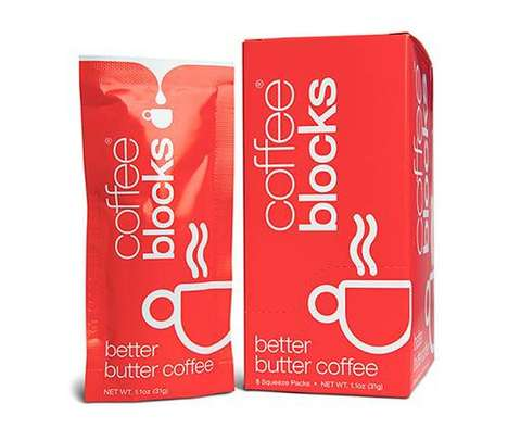 Butter Coffee Packets
