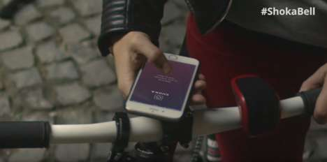 Smart Bicycle Bells - Shoka's Bell Enhances Navigation, Safety and Gamifies Cycling