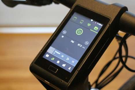 Smartphone-Integrated Bicycles