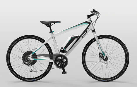 E-Bike Conversion Accessories - The TranzX Works is a Sleek Battery that Turns Bikes into E-Bikes