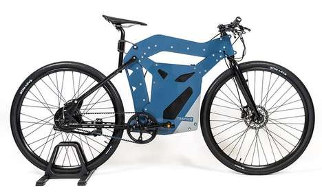 Partially Printable E-Bikes