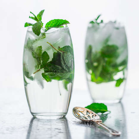 Maple Mint Cocktails