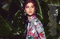 Tropical Floral Editorials