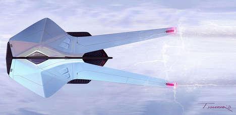 Conceptual Stingray Spacecrafts