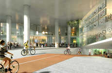 Bike-Friendly Office Buildings - The Oslo Solar Building is Designed for Bike Storage and Repairs