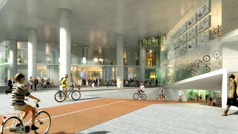 Bike-Friendly Office Buildings