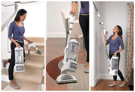 Transformative Home Vacuums - The Shark Navigator Lift-Away Pro Changes Form for Different Tasks