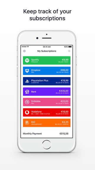 Bill-Organizing Apps