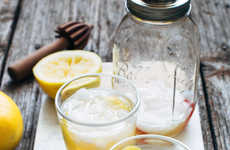 Spicy Grapefruit Spritzers