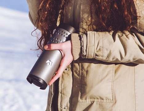 Precision Temperature Travel Mugs