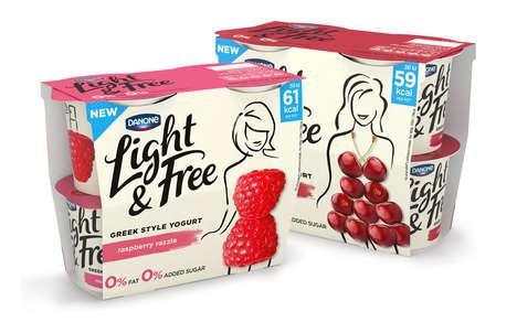 Female-Targeted Greek Yogurts