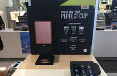 Customizable Coffee Kiosks