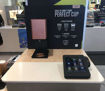 Customizable Coffee Kiosks - The New McCafe Coffee Kiosk Allows Customers to Skip the Line
