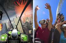 Alien-Fighting VR Roller Coasters - The New Revolution VR Roller Coaster Updates an Existing Ride