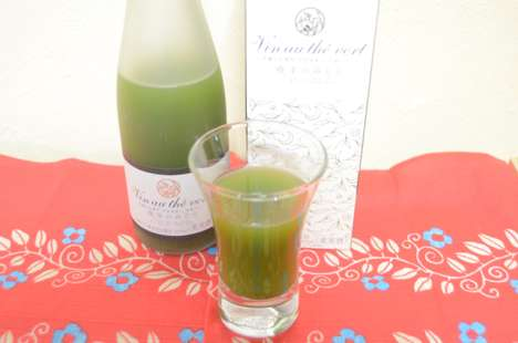 Antioxidant Matcha Wines - Tea Company Itokyuemon Makes Green Tea Wine