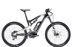 Rugged Speedy Smart Cycles - The Lapierre Overvolt FS 900 Off-Road Bike Has Ample Power and Features
