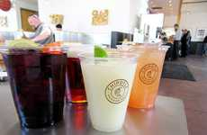 Fast Casual Cocktail Menus - This Chain is Now Serving Craft Cocktails at One of Its Locations