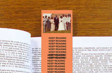 Rap Album Bookmarks - These Novelty Bookmarks Celebrate Famous Hip-Hop Hits