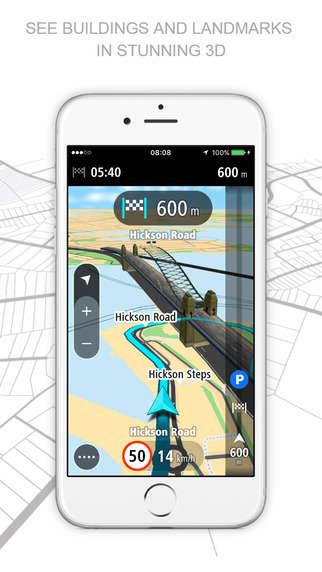Real-Time Navigation Apps