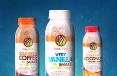 Meal-Replacing Superfood Shakes - Chia Star's Beverages Leverage the Benefits of Fully Soaked Chia