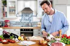 Gourmet Italian Meal Kits - The 'Gourmio' Food Delivery Service is Dedicated to Italian Cuisine