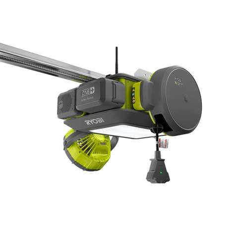Multipurpose Garage Door Openers - The Ryobi Ultra Quiet Garage Door Opener System is Modular
