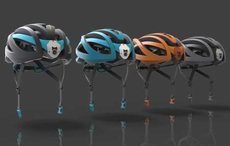 Camera-Embedded Cyclist Helmets