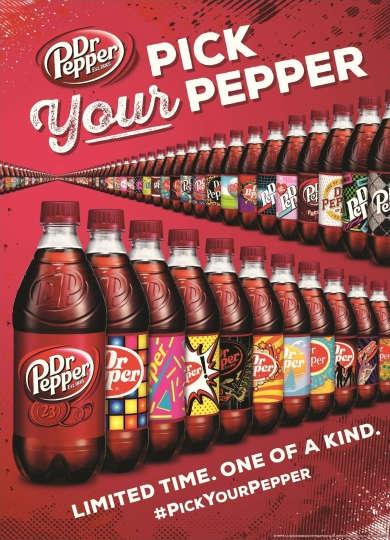 Millennial-Targeted Soda Bottles