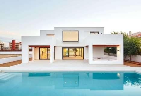Whiteout Seaside Homes