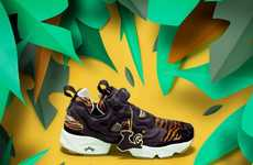 Exotic Sneaker Collaborations - The Reebok Jungle Book Collection Features Disney-Themed Kicks