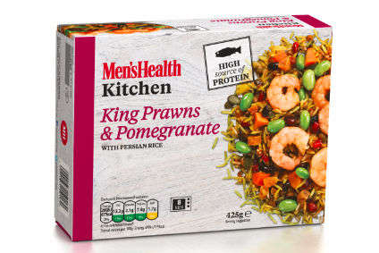 Masculine Frozen Meals - These Frozen Ready Meals Are Part Of the Men's Health Kitchen Range