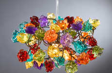 Whimsical Handmade Chandeliers