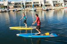 Stand-Up Aquatic Pedal Boards - Hobie Mirage Eclipse Boards are Like Step Machines for the Water