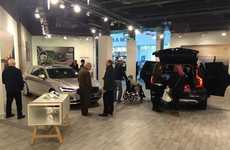 Scandinavian Car Pop-Ups - Volvo's Café Helps Guests Refuel After Viewing S90 and V90 Models
