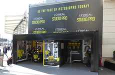Pop-Up Styling Stations - L'Oréal is Introducing 'Studio Pro' with a Complimentary Styling Service
