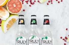 Boozy Sparkling Water Beverages - The Truly Spiked & Sparkling Range Puts an Adult Twist on Water