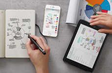 Digitized Notebook Sets - The Smart Writing Set from Moleskine Allows Users to Digitize Their Notes