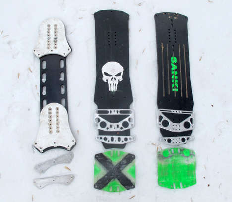 Suspension-Strengthened Snowboards