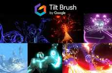 VR Painting Apps - Tilt Brush Lets You Create Paintings In Three-Dimensional Space