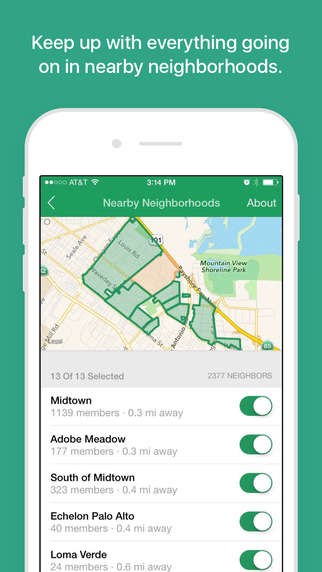 Neighbor-Connecting Apps