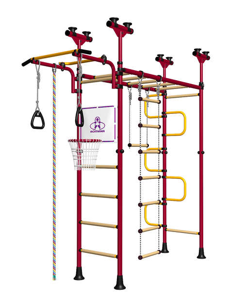 Home Jungle Gyms - LimiKids' 'Pegasus' Includes a Ladder, Monkey Bars and More