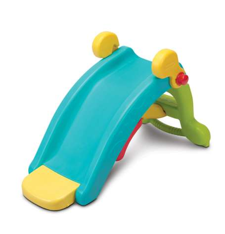 Transformative Play Slides - This Two-in-One Fisher Price Slide Doubles as a Toy Rocker