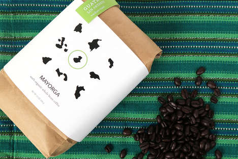 Latino Coffee Branding - These Coffee Bags Spotlight the Origins of South American Coffee