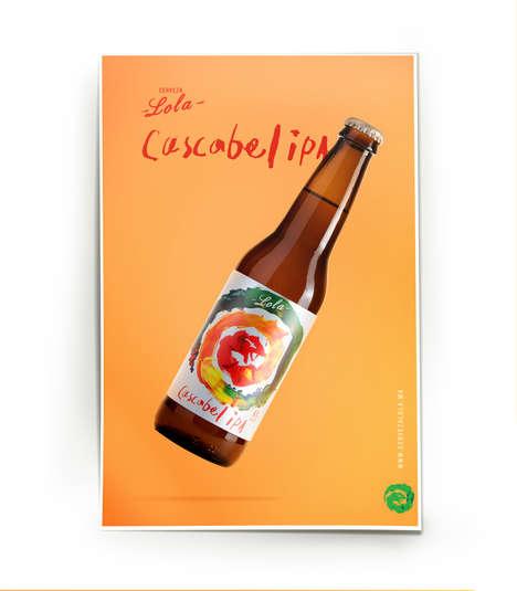 Piquant Beer Branding