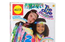 Friendship Fashion Kits - The ALEX Toys DIY Tie Dye Fashion Kit is Designed for Best Friends