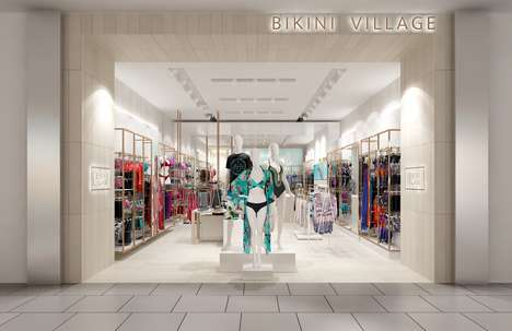 Ultra-Modern Swimwear Shops