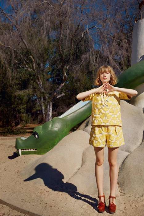 Playground Fashion Ads